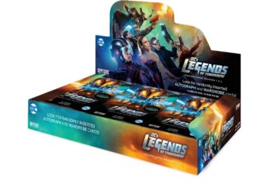 CRYPTOZOIC 2018 DC COMICS LEGENDS OF TOMORROW 1&2