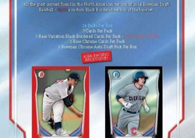 MLB 2014 BOWMAN DRAFT BASEBALL ASIA