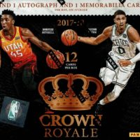 NBA 2017-18 PANINI CROWN ROYALE BASKETBALL
