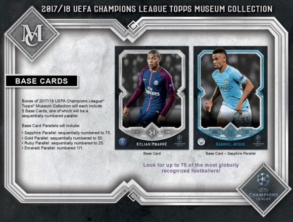 2017/18 UEFA CHAMPIONS LEAGUE MUSEUM COLLECTION