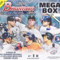 MLB 2017 BOWMAN MEGA BOX CHROME BASEBALL