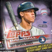 MLB 2017 TOPPS SERIES UPDATE JUMBO