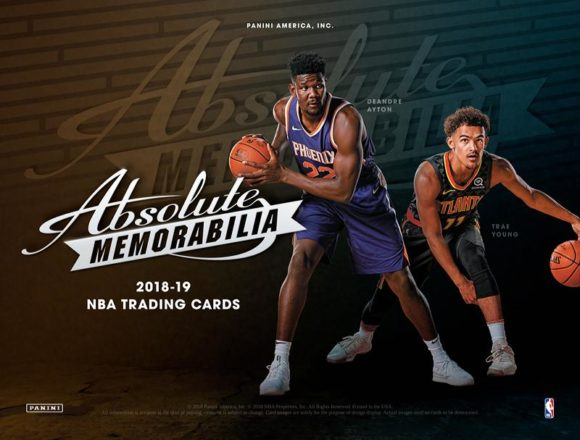 NBA 2018-19 PANINI ABSOLUTE MEMORABILIA BASKETBALL
