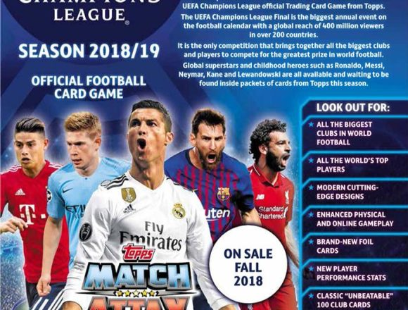 2018/19 UEFA CHAMPIONS LEAGUE MATCH ATTAX