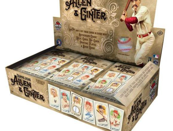 MLB 2018 TOPPS ALLEN&GINTER BASEBALL