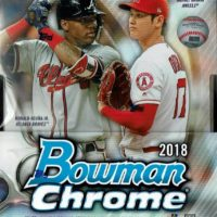 MLB 2018 BOWMAN CHROME BASEBALL HOBBY