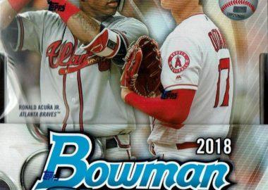 MLB 2018 BOWMAN CHROME BASEBALL HOBBY