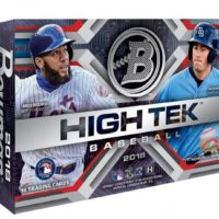 MLB 2018 BOWMAN HIGH TEK BASEBALL