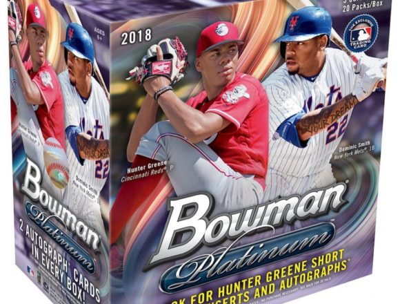 MLB 2018 BOWMAN PLATINUM COLLECTOR BOX