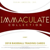 2018 PANINI IMMACULATE COLLECTION BASEBALL
