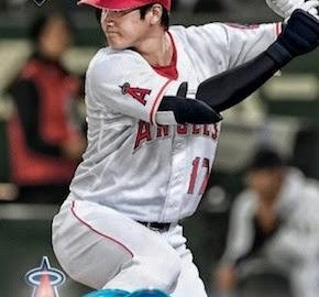 MLB 2018 TOPPS BASEBALL ANGELS TEAM SET (大谷 RC)