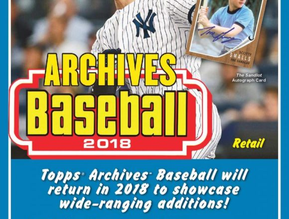 MLB 2018 TOPPS ARCHIVES FAT PACK