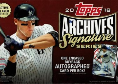 MLB 2018 TOPPS ARCHIVES SIGNATURE ACTIVE PLAYERS