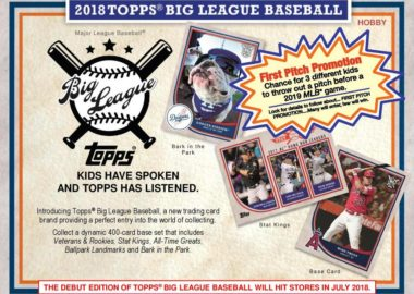 MLB 2018 TOPPS BIG LEAGUE BASEBALL