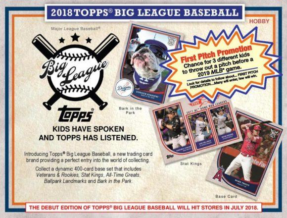 MLB 2018 TOPPS BIG LEAGUE BASEBALL