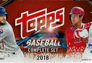 MLB 2018 TOPPS BASEBALL COMPLETE SET HOBBY