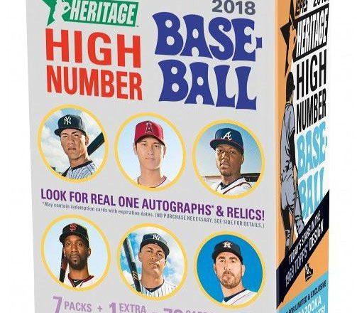 MLB 2018 TOPPS HERITAGE HIGH NUMBER BLASTER