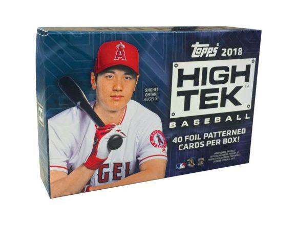 MLB 2018 TOPPS HIGH TEK BASEBALL
