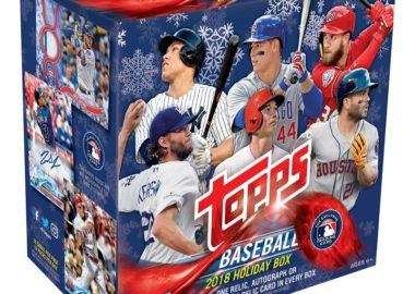 MLB 2018 TOPPS HOLIDAY MEGA BOX