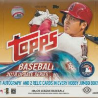 MLB 2018 TOPPS UPDATE SERIES HTA JUMBO