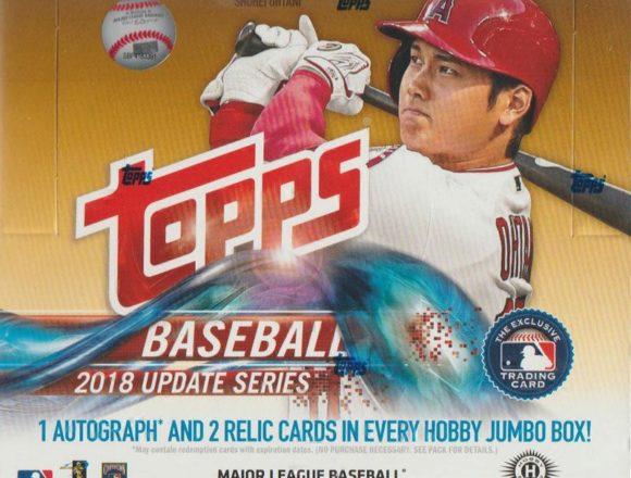 MLB 2018 TOPPS UPDATE SERIES HTA JUMBO