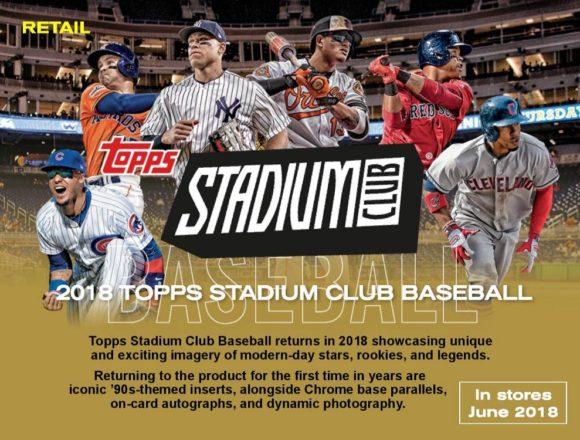 MLB 2018 TOPPS STADIUM CLUB BASEBALL BLASTER