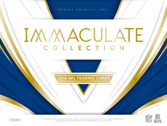 NFL 2018 PANINI IMMACULATE COLLECTION FOOTBALL