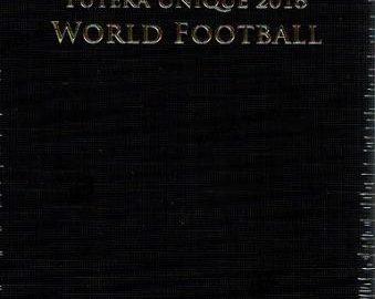 2018 FUTERA UNIQUE WORLD FOOTBALL SOCCER