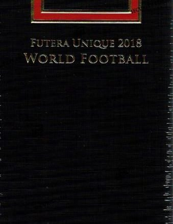 2018 FUTERA UNIQUE WORLD FOOTBALL SOCCER