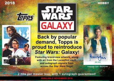 2018 TOPPS STAR WARS GALAXY