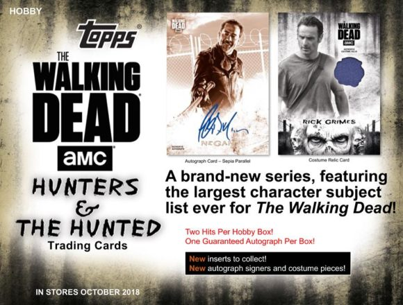 2018 TOPPS THE WALKING DEAD: THE HUNTERS AND THE HUNTED