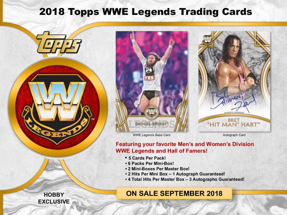 2018 TOPPS WWE LEGENDS