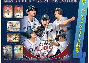 EPOCH 2018 埼玉西武ライオンズ シーズン・アチーブメント
