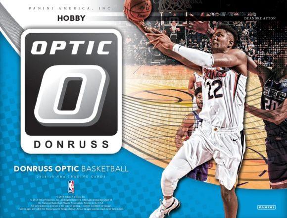 2018/19 DONRUSS OPTIC BASKETBALL HOBBY