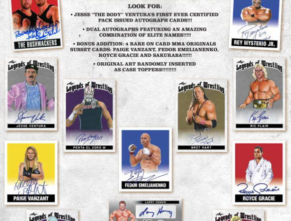 2018 LEAF LEGENDS OF WRESTLING