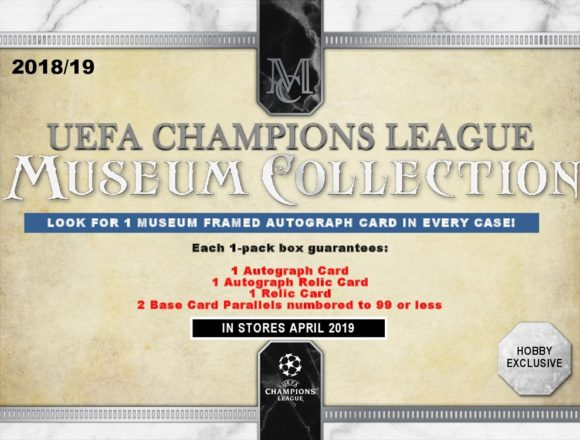 2018/19 UEFA CHAMPIONS LEAGUE MUSEUM COLLECTION