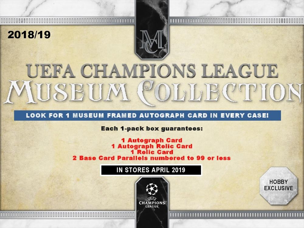 2018/19 UEFA CHAMPIONS LEAGUE MUSEUM COLLECTION