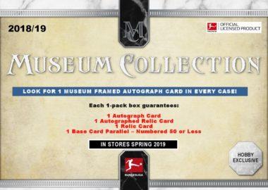 2018/19 TOPPS BUNDESLIGA MUSEUM COLLECTION