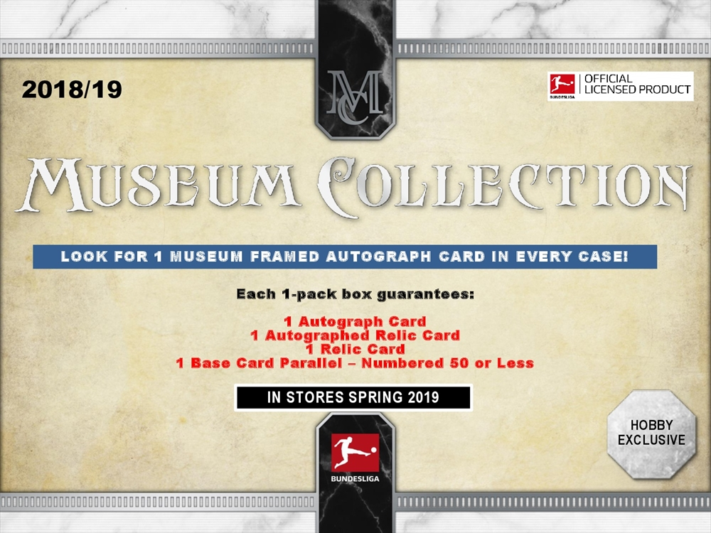 2018/19 TOPPS BUNDESLIGA MUSEUM COLLECTION