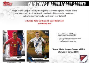 2019 TOPPS MLS(MAJOR LEAGUE SOCCER)