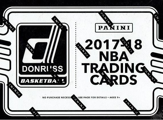 NBA 2017/18 DONRUSS BASKETBALL FAT PACKS