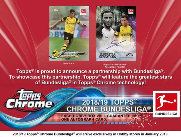 2018/19 TOPPS CHROME BUNDESLIGA