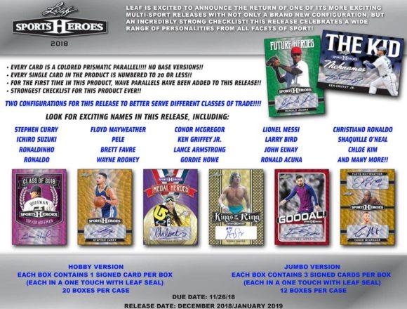 LEAF METAL SPORTS HEROES HOBBY