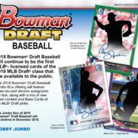 MLB 2018 BOWMAN DRAFT BASEBALL JUMBO