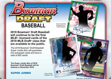 MLB 2018 BOWMAN DRAFT BASEBALL SUPER JUMBO