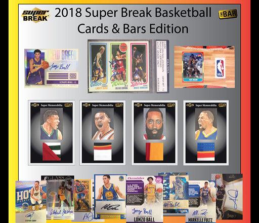 2018 SUPER BREAK BASKETBALL CARDS & BAR EDITION