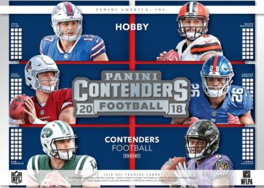 NFL 2018 PANINI CONTENDERS FOOTBALL
