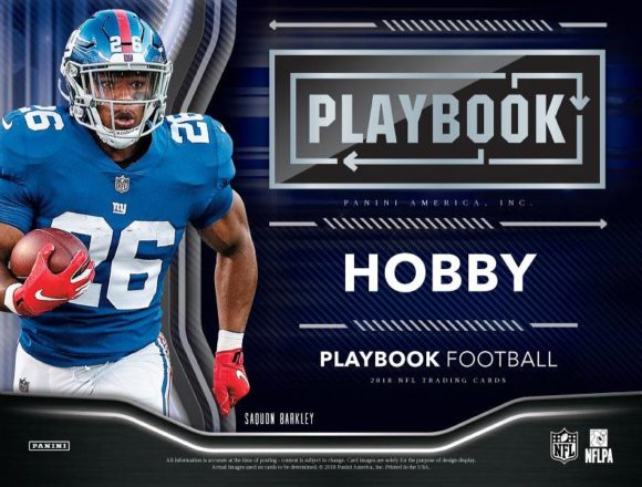 NFL 2018 PANINI PLAYBOOK FOOTBALL