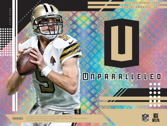 NFL 2018 PANINI UNPARALLELED FOOTBALL