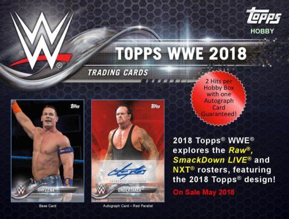 2018 TOPPS WWE